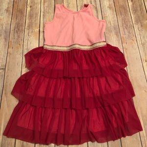 Hanna pink swish dress
